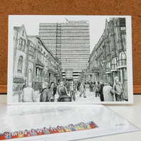 West Riding House - Leeds Greetings Card