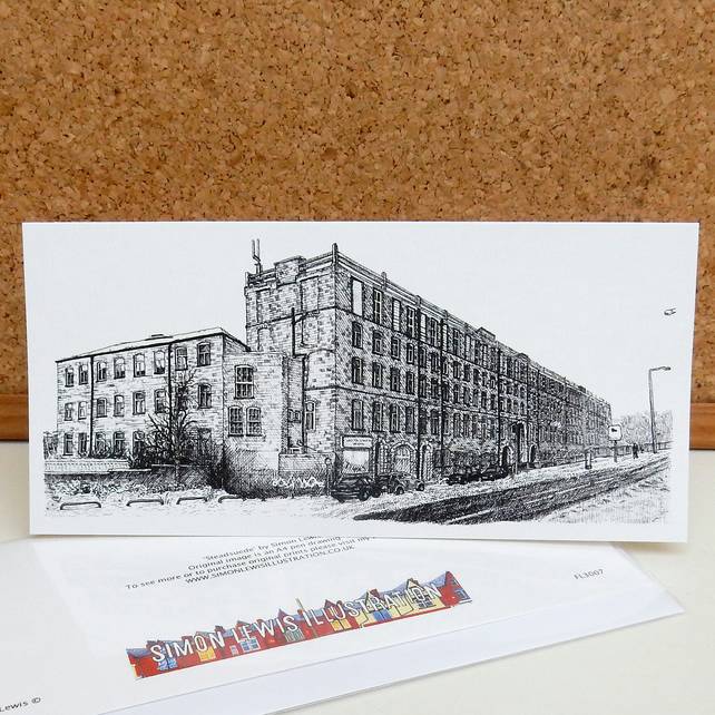 Steadsuede - Leeds Greetings Card