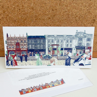 The Headrow - Leeds Greetings Card