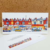 Harehills Lane - Leeds Greeting Card