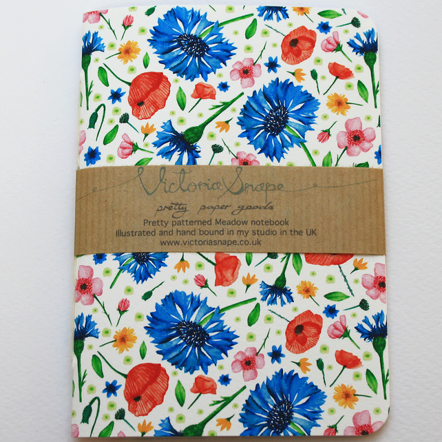 Meadow- Hand bound notebook