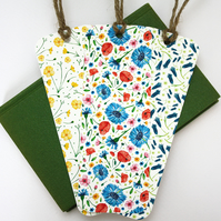 Set of three Meadow bookmarks