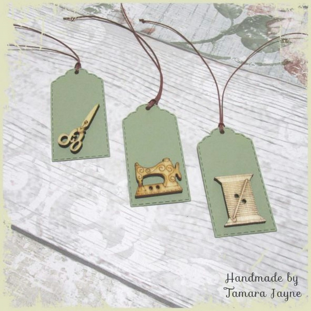 Pack of 3 Sewing Gift Tags