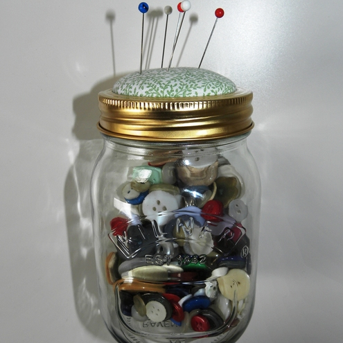 Sewing Jar