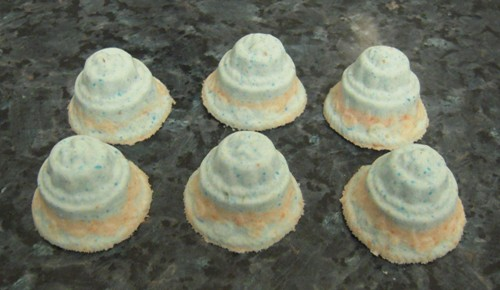 Wedding Cake Bath Bombs X 6