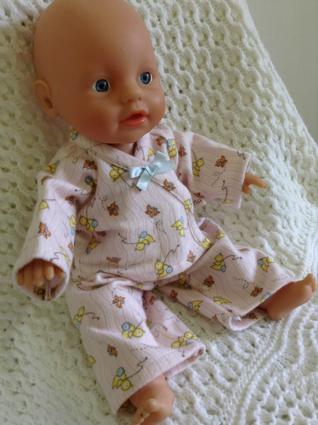 Dolls Clothes 32 To 34cm Pyjamas My Little Bab Folksy