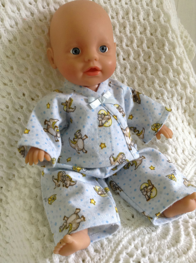 Baby dolls clothes hand made to fit My first//little baby born doll
