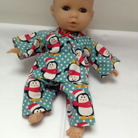 Dolls Clothes 30cm 12inch Christmas Pyjamas ELC Cupcake, Corolle & similar