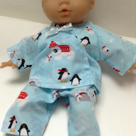 Dolls Clothes 30cm 12inch Pyjamas ELC Cupcake, Corolle Calin & similar