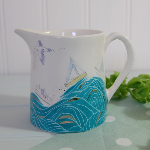 Seaside Milk Jug