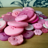 Pink Button Mix 50g
