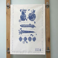 Fruit and Veg Tea towel
