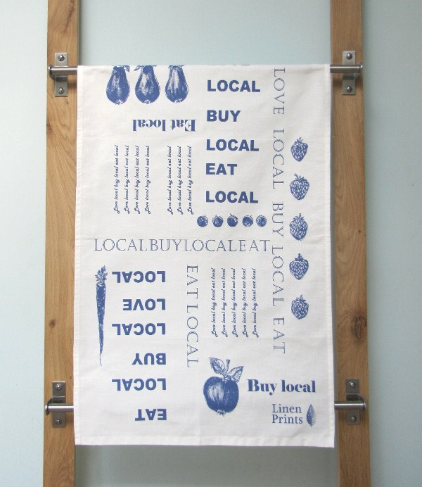 Love Local Tea Towel