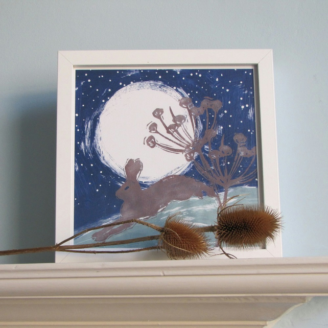Midnight Hare Giclee Print