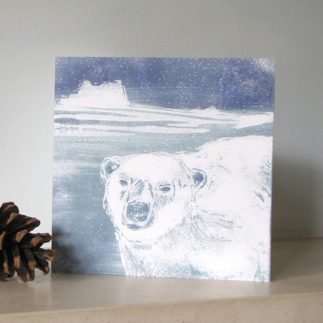Iceberg Polar Christmas Card