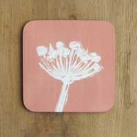 Orange Seed head Coaster