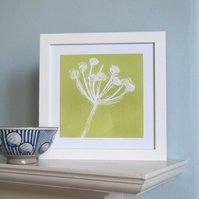 Green Seed Head Giclee Print