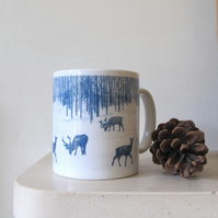 Woodland Walk Ceramic Mug
