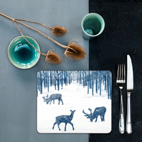 Woodland Walk Placemats Set 4