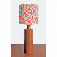 Lampshade - 'Shingle - Orange'