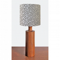 Lampshade - 'Shingle - Grey'
