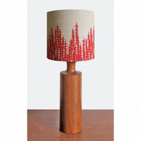 Lampshade - 'Forest' - Red