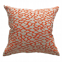 'Shingle' Orange -  Cushion Cover