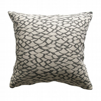 'Shingle' Grey -  Cushion Cover