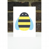 Buzzy Bee Card