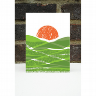Green Fields Card
