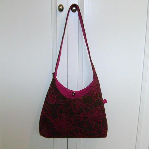 Casual Fabric Shoulder Bag