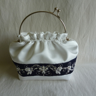 Custom wedding bag for Donna