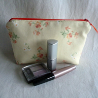 Vintage Laura Ashley fabric Make-up Bag
