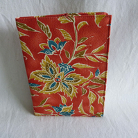 Kimono silk covered notebook