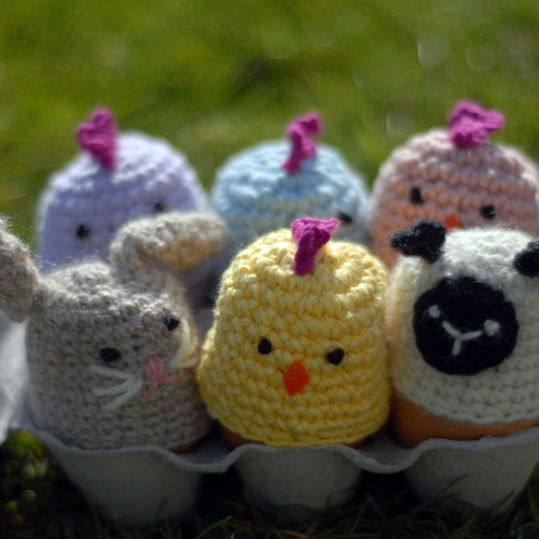 Chick Egg Cosy (Yellow)
