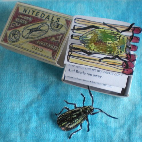 Alexander Beetle Matchbox Poem