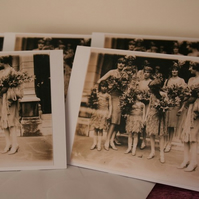 Charity Bridesmaids cards, set of 5