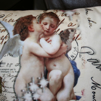 Cushion  angel & fairy stars home decor fairytale