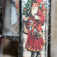 Sale 3D Small Father Christmas centre piece display