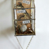 Swallow Home Sweet Home bird box hanging decorations