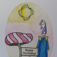 The Land of Make Believe birthday card 1