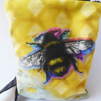 Bee themed bag across body