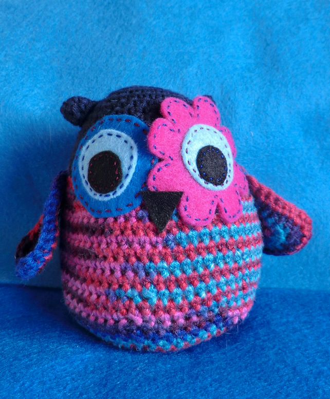 Amigurumi Patterns Owl : Fritz the amigurumi owl crochet pattern - Folksy