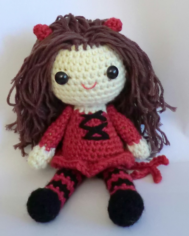 Crochet Doll Pattern sally doll pattern crochet patterneasy | Etsy | 803x642