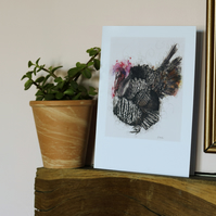 Turkey, A5 Large Greeting Card