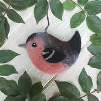 Clifford the Needle Felted Chaffinch