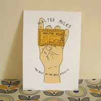 Malted Milk Screen Print