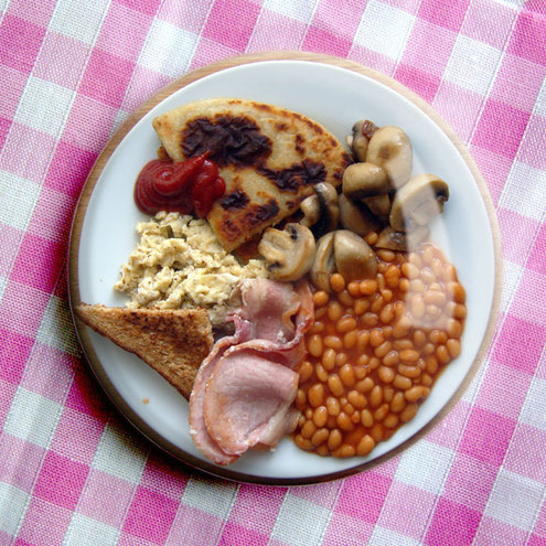 Fry-Up Breakfast Pin-Badge