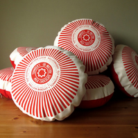 Tunnock's Teacake Screen Printed Cushion
