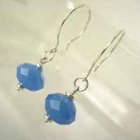 Chalky Sky earrings
